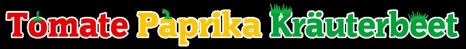 Logo: Tomate, Paprika und Kräuterbeet