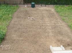 Abschluss der ersten Gartenarbeiten