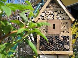 Insektenhotel erwartet erste Gäste